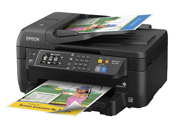 Сброс памперса Epson WorkForce WF-2760