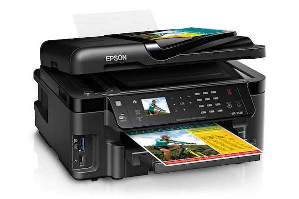 Сброс памперса Epson WorkForce WF-3520