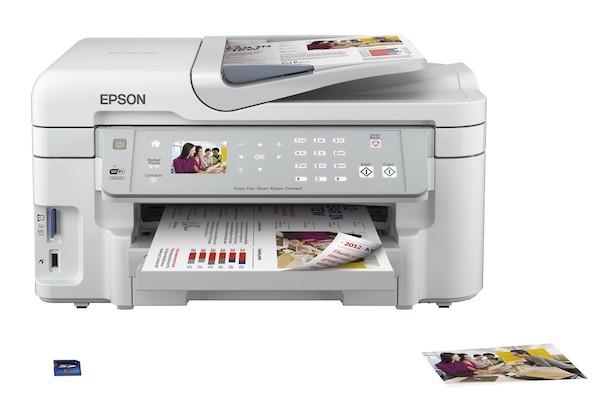Сброс памперса Epson WorkForce WF-3521 и прошивка принтера