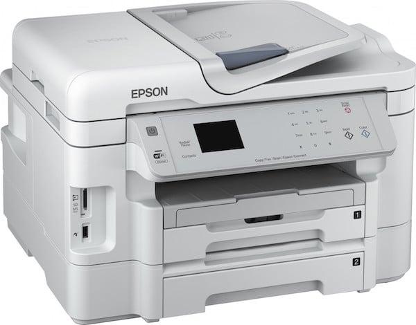 Сброс памперса Epson WorkForce WF-3530 и прошивка принтера