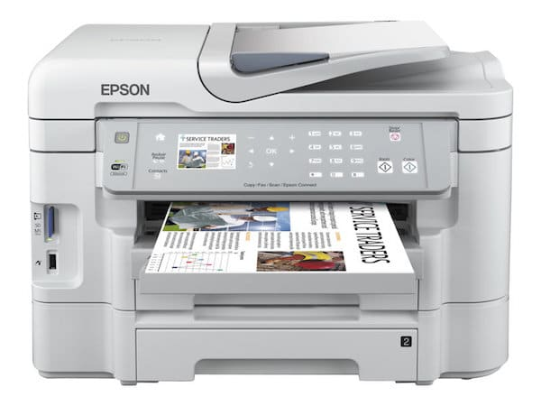 Сброс памперса Epson WorkForce WF-3531 и прошивка принтера