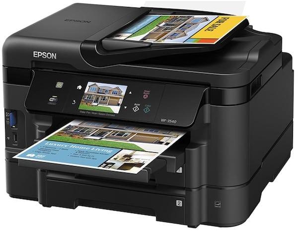 Сброс памперса Epson WorkForce WF-3540 и прошивка принтера