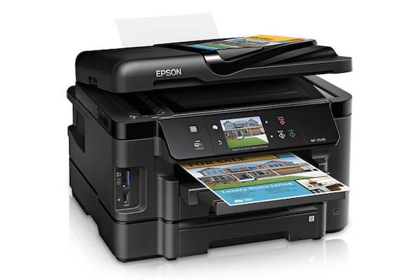 Сброс памперса Epson WorkForce WF-3541 и прошивка принтера