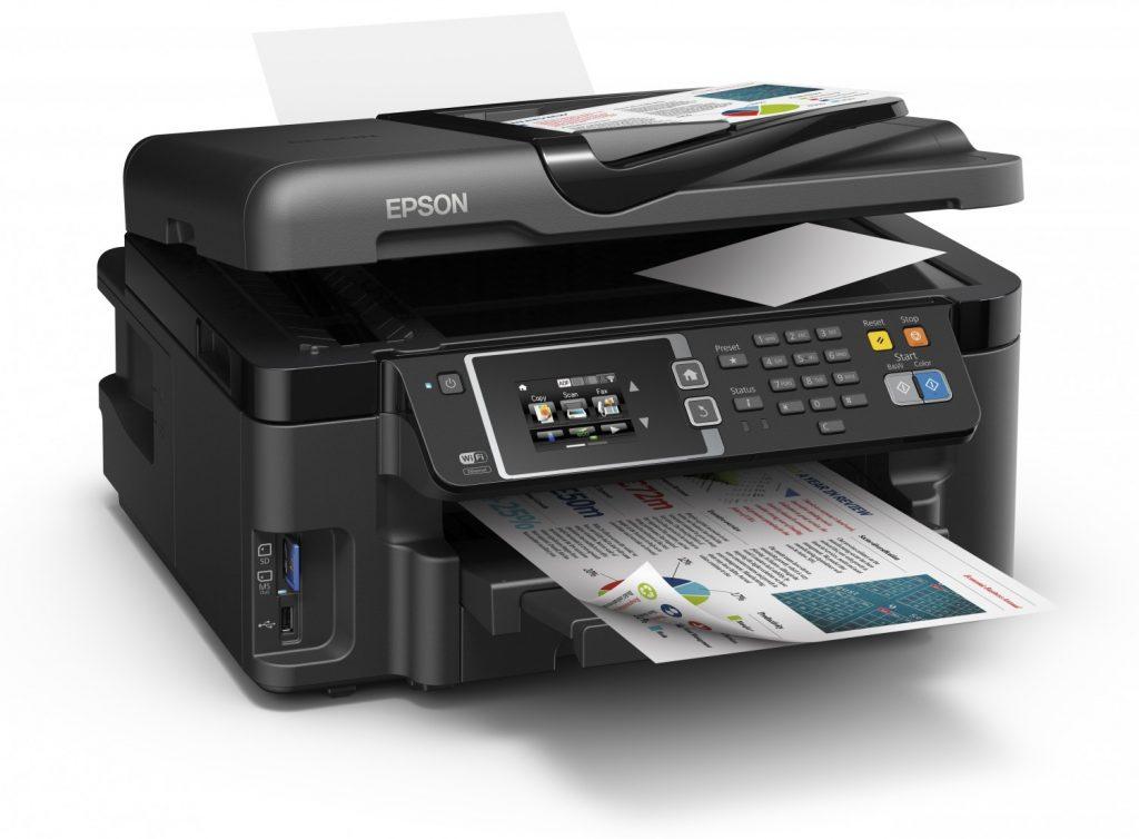Сброс памперса Epson WorkForce WF-3620DWF и прошивка принтера