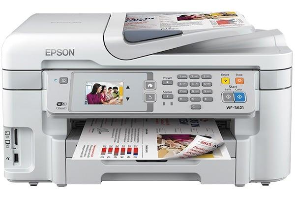 Сброс памперса Epson WorkForce WF-3621 и прошивка принтера