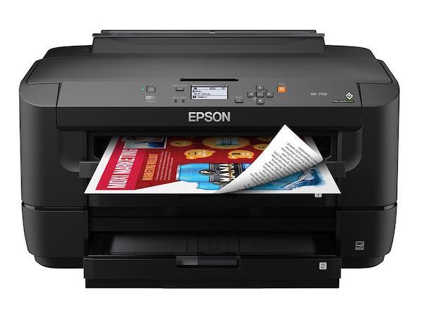 Сброс памперса Epson WorkForce WF-7110 и прошивка принтера