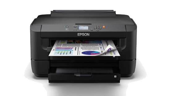 Сброс памперса Epson WorkForce WF-7111 и прошивка принтера