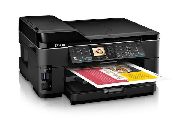 Сброс памперса Epson WorkForce WF-7510 и прошивка принтера
