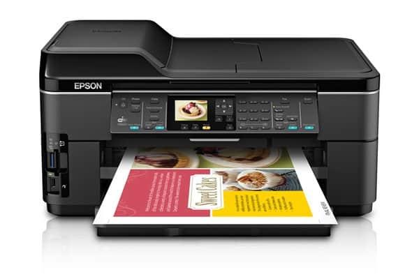 Сброс памперса Epson WorkForce WF-7511 и прошивка принтера
