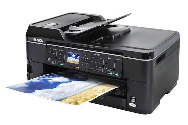 Сброс памперса Epson WorkForce WF-7515 и прошивка принтера