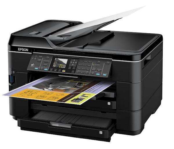 Сброс памперса Epson WorkForce WF-7521 и прошивка принтера