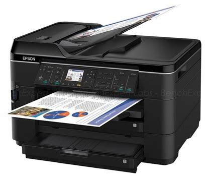 Сброс памперса Epson WorkForce WF-7525