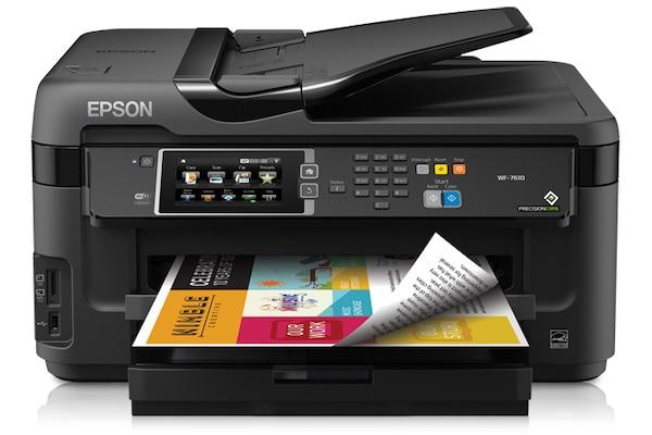 Сброс памперса Epson WorkForce WF-7610 и прошивка принтера