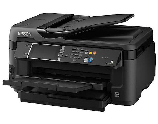 Сброс памперса Epson WorkForce WF-7611 и прошивка принтера