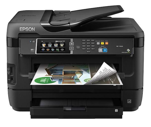 Сброс памперса Epson WorkForce WF-7620 и прошивка принтера
