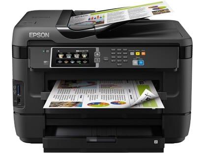 Сброс памперса Epson WorkForce WF-7621 и прошивка принтера