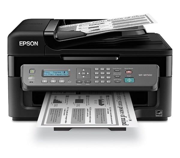 Сброс памперса Epson WorkForce WF-M1560 и прошивка принтера