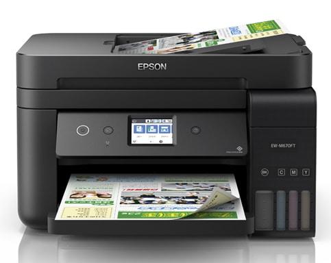 Прошивка принтера Epson EW-M670FT и прошивка принтера