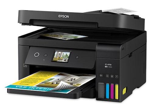 Прошивка принтера Epson WorkForce ET-4750 и прошивка принтера