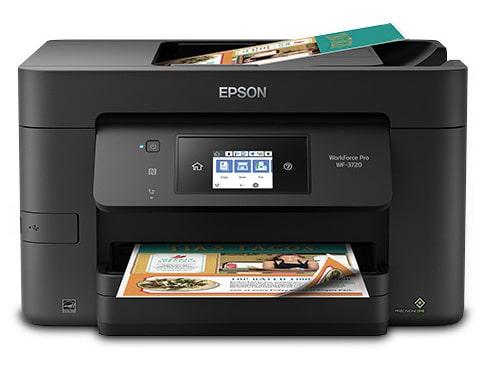 Сброс памперса Epson WorkForce Pro WF-3720 и прошивка принтера