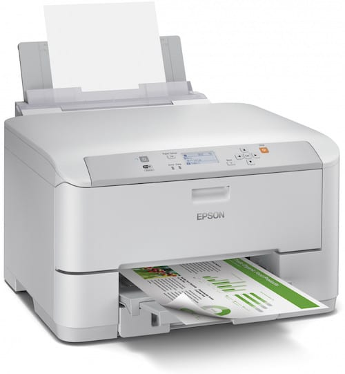 Сброс памперса Epson WorkForce Pro WF-5113 и прошивка принтера
