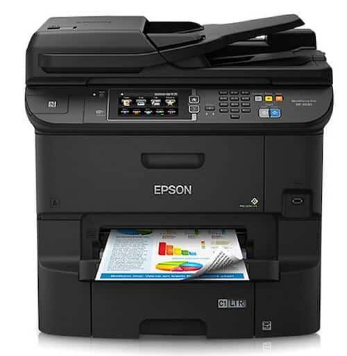 Прошивка принтера Epson WorkForce Pro WF-6530