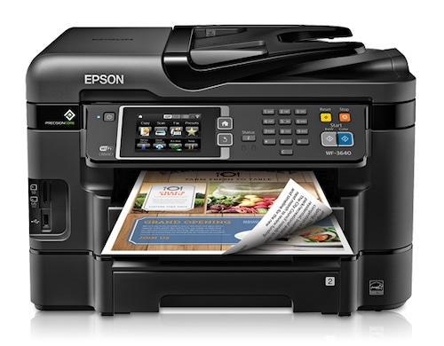 Прошивка принтера Epson WorkForce WF-3640