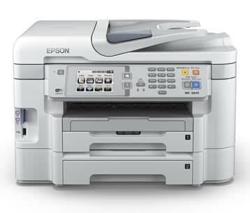 Сброс памперса Epson WorkForce WF-3641 и прошивка принтера