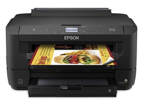 Прошивка принтера Epson WorkForce WF-7210