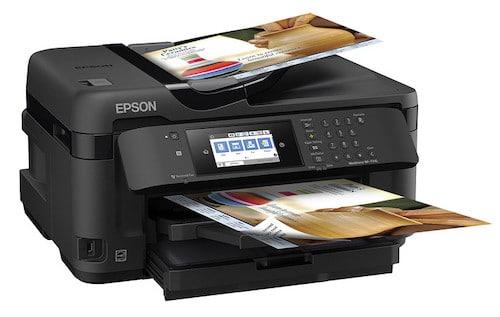 Прошивка принтера Epson WorkForce WF-7710