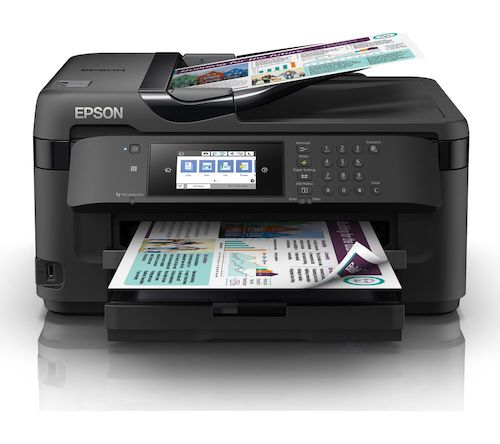 Прошивка принтера Epson WorkForce WF-7715DWF