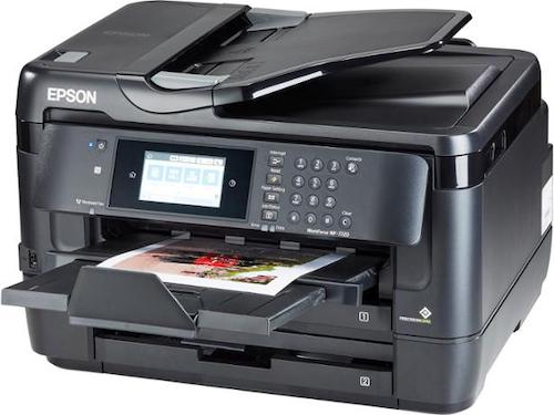 Прошивка принтера Epson WorkForce WF-7720DTWF