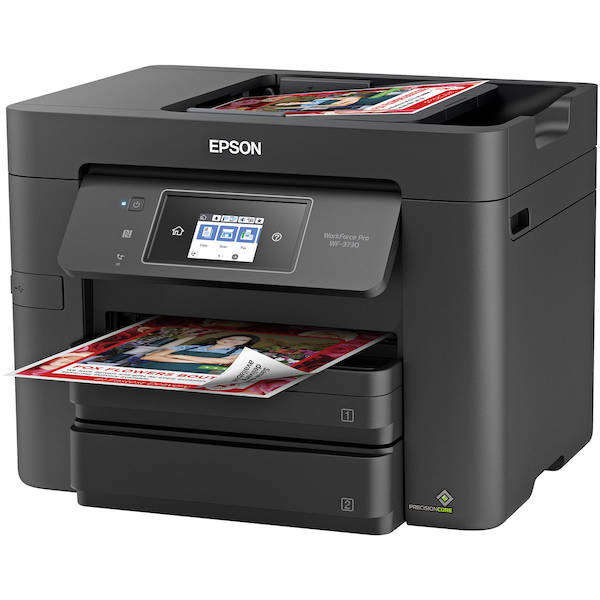 Сброс памперса Epson WorkForce Pro WF-3730 и прошивка принтера